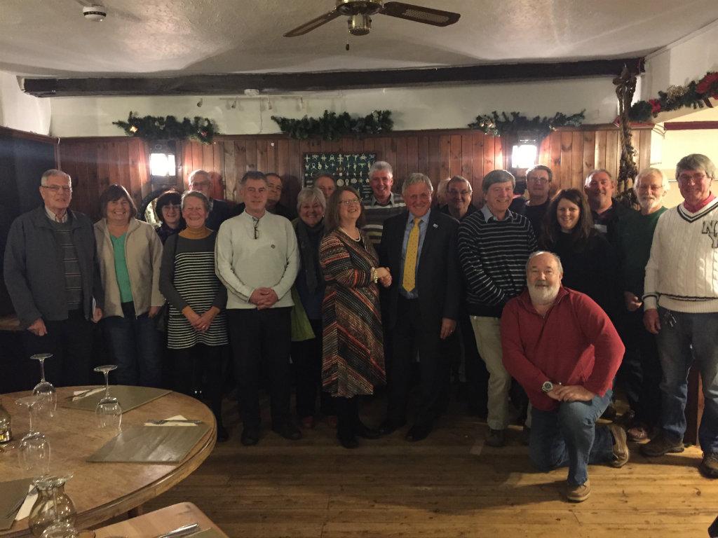 December Steering Group Meeting